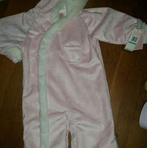 Polo Pink and Cream NWT Infant Coat Sz 6/9 mth
